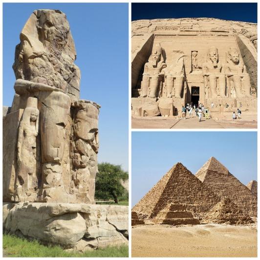 monumentos de egiptos